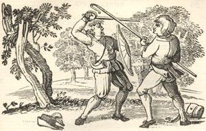 Robin Hood and the Shepherd