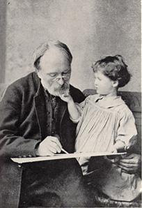 Edward Burne-Jones Reading