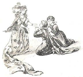 """""""And her sisters fell down on their knees and begged her pardon for using her so badly..."""""""