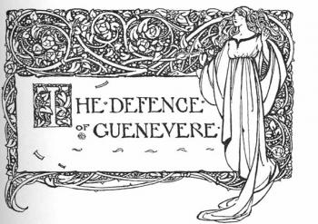 "Headpiece to ""The Defence of Guinevere"""