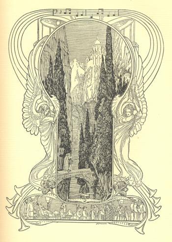 Monsalvat, the Castle of the Grail
