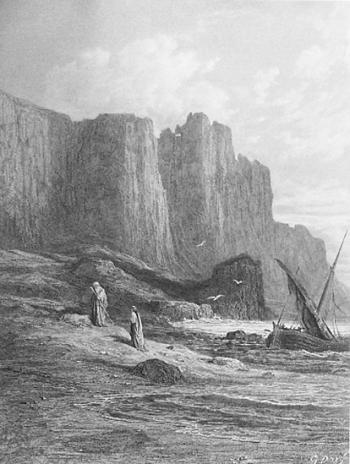 Vivien and Merlin Disembark