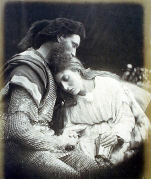 The Parting of Sir Lancelot and Queen Guinevere