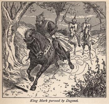 King Mark Pursued by Dagonet