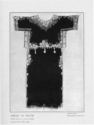 """Dress in Batik."""