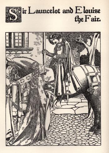 Sir Launcelot and Elouise the Fair