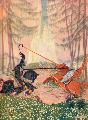 At Last Sir Gareth Overcame the Red Knight
