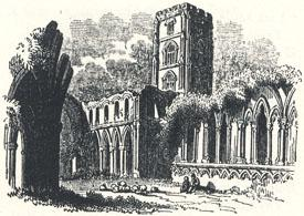 View of Fountain's Abbey