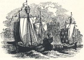 """Ancient Shipping, Headpiece to """"The Noble Fisher-man; or, Robin Hood's Preferment"""""""
