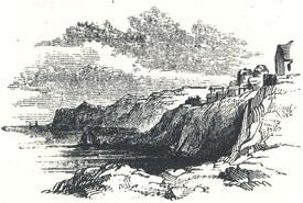 "View of Robin Hood's Bay Near Whitby, Yorkshire, Tailpiece to ""The Noble Fisher-man; or, Robin Hood's Preferment"""