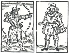 "Headpiece to ""Robin Hood and the Shepherd"""
