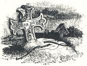 "Robin Hood's Grave, Tailpiece to ""Robin Hood's Death and Burial"""